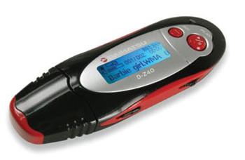 Daihatsu D-Z40, reproduce MP3, WMA, WAV y también Ogg Vorbis