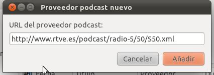 Proveedor podcast nuevo