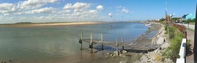 Muelle Uno: Cruce de Laguna